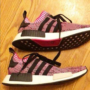 Adidas NMD pink & black sz 7 1/2
